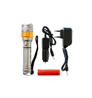 Ручной светодиодный фонарь 1208