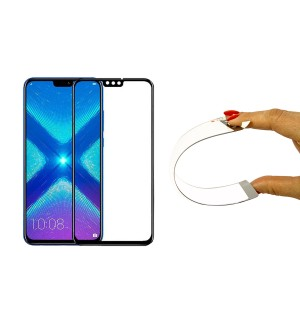 Защитное 5D cтекло Nano Flexible GLASS ITOP для Huawei Honor 8X Full Cover