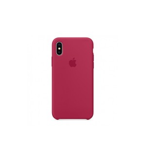 Чехол Apple Silicone Case для iPhone Xs Max Rose RED