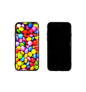 Чехол-накладка 3D M&M`s для Apple IPhone 8