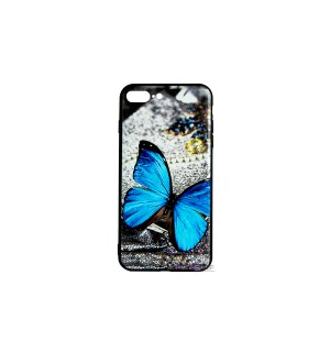 Чехол-накладка 3D Blue Butterfly Morpho для Apple IPhone 7Plus