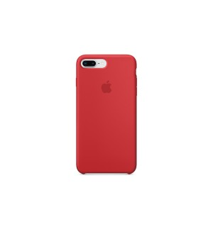 Чехол Apple Silicone Case для iPhone 8 Plus Red