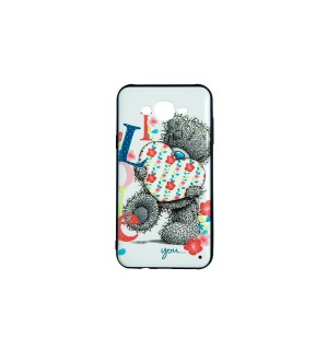 Чехол-накладка 3D Lovely Bear для Samsung J701 Galaxy J7 Neo