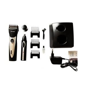 Машинка для стрижки волос Straus ST 101 + триммер для носа и ушей