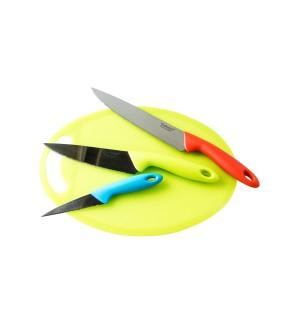 Набор кухонных ножей Giakoma G-8137 c дощечкой для нарезки