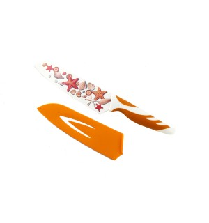 Кухонный нож Giakoma G-8310-2 с цветным лезвием и чехлом