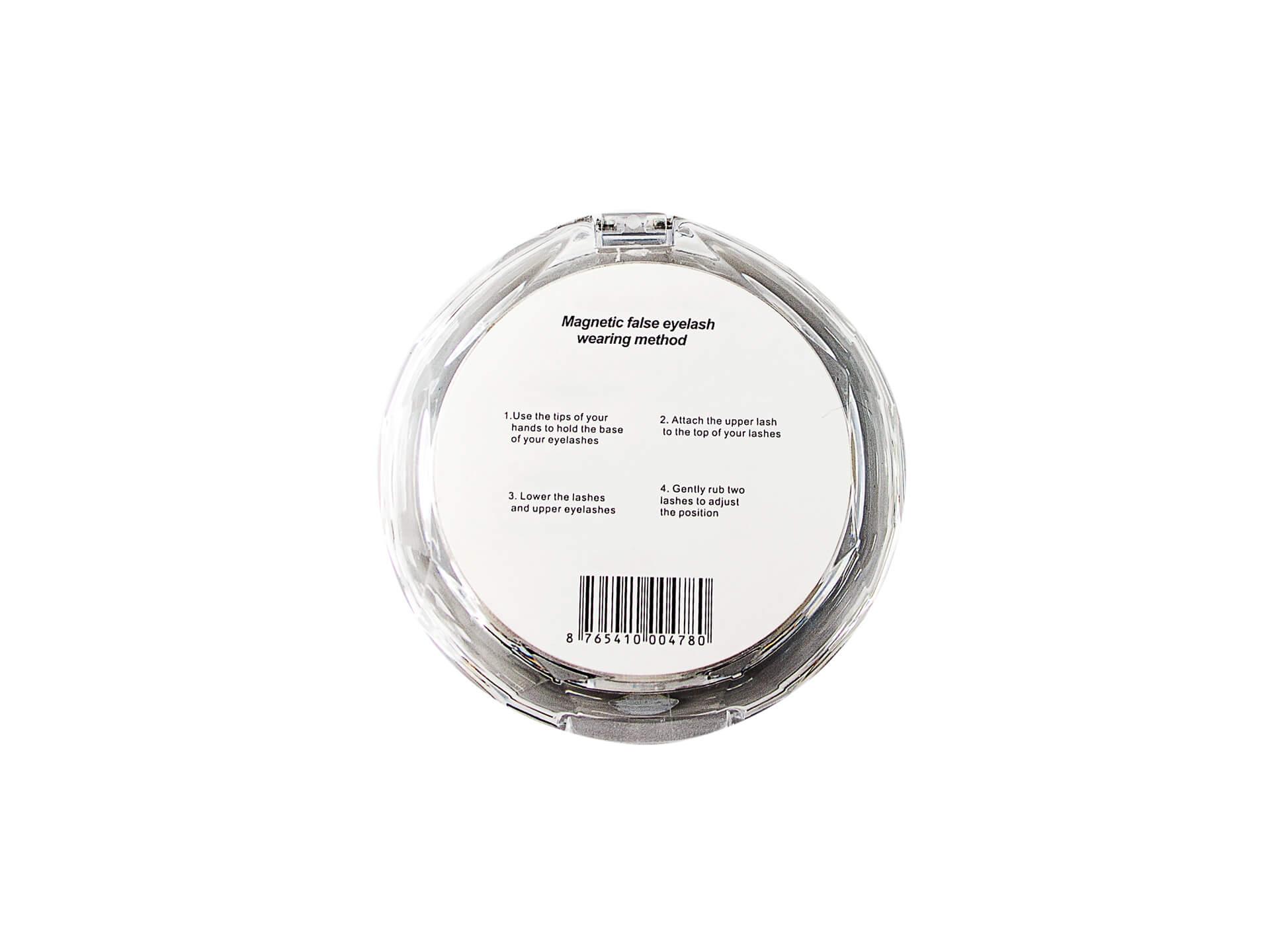 Магнитные накладные ресницы Lilly Beauty К- 14 Professional 4